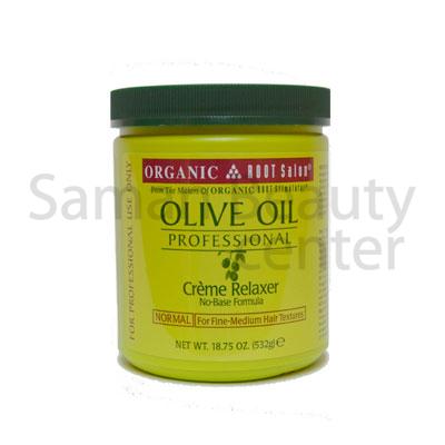 Professsional Olive Oil Creme Relaxer Regular 532g